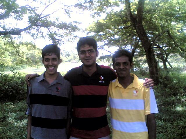 Nadeesha , Chanak and Sadeepa