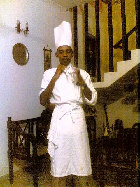 Nadeesha - the chef