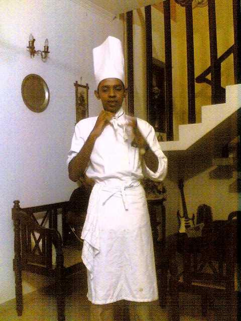 Nadeesha - the chef