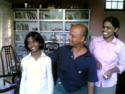 Punchi , Bappa and Nethma